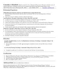 Respiratory Therapist Sample Resume by Sleep Therapist Cover Letter