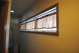 window treatments short curtains what type of fabric is suitable