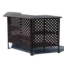 Savannah Outdoor Furniture by Savannah Outdoor Aluminum Console World Of Decor
