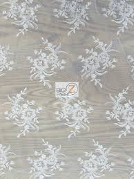 floral embroidery lace fabric guipure lace fabrics