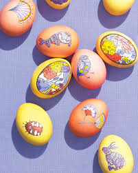 easter egg clip art templates martha stewart