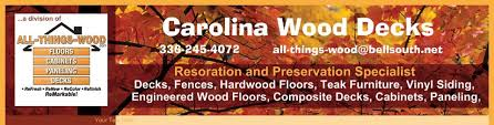 carolina wood decks hardwood floors winston salem nc