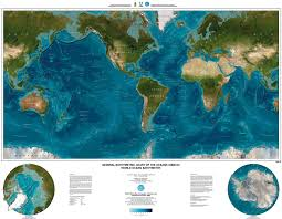 World Map Sweden by Map Of Topography Of The Oceans Relief Maps Of The World