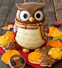 edition owl cookie jar