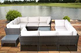 Curved Modular Outdoor Seating by 25 Awesome Modern Brown All Weather Outdoor Patio Sectionals