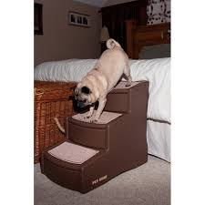 easy 3 step dog steps from pet gear