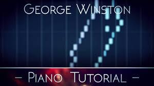 george winston carol of the bells piano tutorial