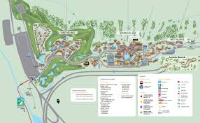 Colorado Maps by Copper Mountain Summer Village Map