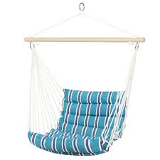 How To Hang A Hammock Chair Indoors Best Choice Products Deluxe Padded Cotton Hammock Hanging Chair Indoor