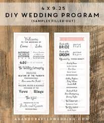 diy wedding program template leaves wedding program template wedding program