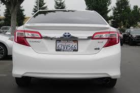 lexus stevens creek careers certified pre owned 2013 toyota camry hybrid le 4dr car in san