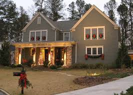 decorating front porch with christmas lights alanta georgia front porch ideas christmas decorating i