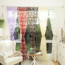 Leaf Design Curtains Compare Prices On Kitchen Curtain Design Online Shopping Buy Low