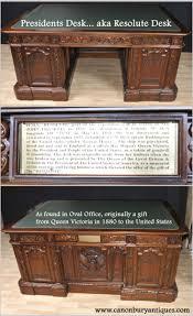 White House Oval Office Desk by Desk
