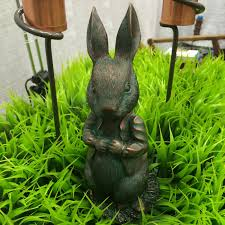 rabbit garden statue the beatrix potter collection only