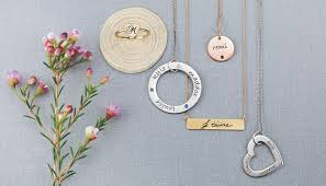 personalized pendants 4 top trends for s jewelry s day 2016