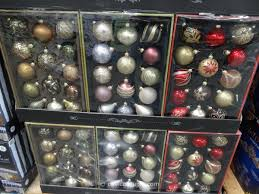 painted glass ornaments set with regard to costco