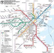 Boston T Train Map by Boston Train Map Images Reverse Search