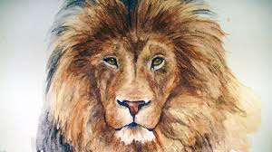 draw lion graphitint pencils