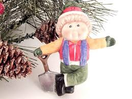 cabbage patch kids christmas tree ornament xavier roberts doll