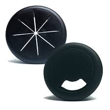 2 inch desk grommet round and flexible desk grommets cable management color options