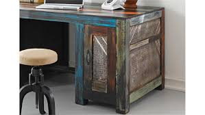 Schreibtisch Holz Goa Von Wolf Möbel In Massivholz Mango