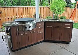 Outdoor Kitchen Stainless Steel Cabinet Doors Stainless Steel Outdoor Kitchen Cabinets U2013 Faced