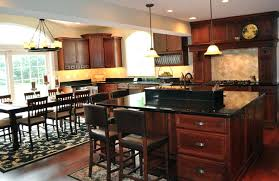 cherry wood kitchen cabinets with glass doors floors
