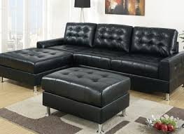 Leather Sectional Sofa Chaise by Bonded Leather Sectional Sofa With Chaise Alley Cat Themes