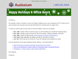 Sample Letter For Closure Of Business by 7 Examples Of Successful Email Templates A Case Study