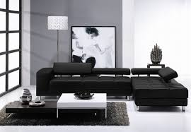 Black Leather Sofa Modern Black Leather Reclining Sofa Furniture From Turkey