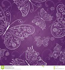 purple seamless abstract ornament with white stock vector