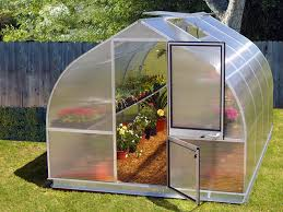 backyard greenhouse home outdoor decoration