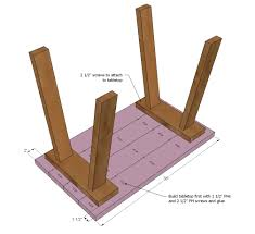 Small Woodworking Projects Free Plans by Ana White Build A Simple Small Trestle Desk Free And Easy Diy