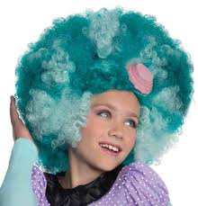 Monster High Halloween Costumes Frankie Stein by Monster High Honey Swamp Child U0027s Costume Afro Wig Costumes