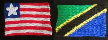 Tanzanian Flag Crochet Corner The South African Flag Annette Hynes U0027s Blog