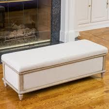 best selling home decor 215504 abilene fabric storage ottoman