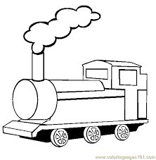 train coloring free land transport coloring pages