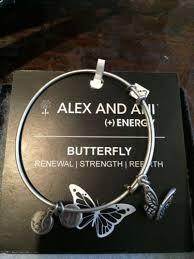 alex and ani bracelet silver butterfly alex and ani