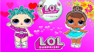 coloring pages for kids how to color l o l surprise doll coloring