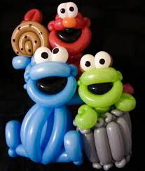 24 best balloon twisting sesame street muppets images on