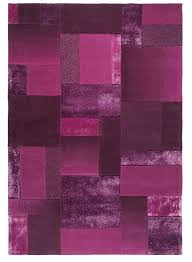 Tapis Rose Fushia by Tapis Salon Contemporain Rose