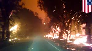Wildfire Anderson Ca by California Fires 2015 Anderson Springs Family Escape Valleyfire