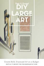 201 best big wall art ideas images on pinterest wall decor art