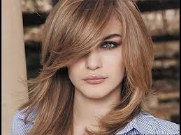 shoulder length 30 shoulder length layered hairstyles with bangs shoulder length