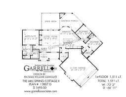 house plans 2 mill cottage ii house plan house plans by garrell
