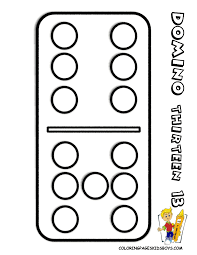 popular numbers coloring pages to print 2 learn dominoes free