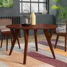 Oak Top Dining Table Oak Laminate Top Dining Table Wayfair