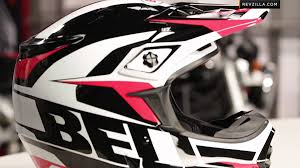 motocross helmet graphics bell mx 2 element helmet review at revzilla com youtube