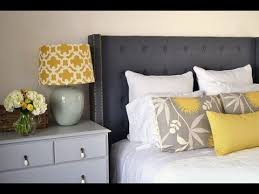 diy upholstered headboard and footboard youtube